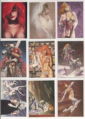 Joseph Michael Linsner Dawn & Beyond Trading Cards Choose From List (CHOICE)