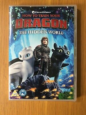 how to train your dragon the hidden world DVD New And Sealed (2019)