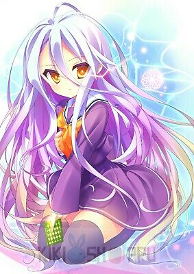 Poster A3 No Game No Life Shuvi Ecchi Manga Anime Cartel Decor Impresion 01