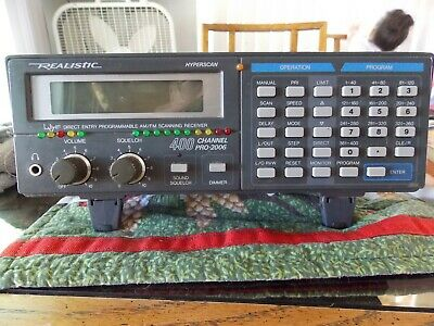 REALISTIC PRO 39 by Radio Shack PRO-39 SCANNER 200 Channels