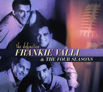 The Definitive Frankie Valli & The Four Seasons - CD - Played Once!