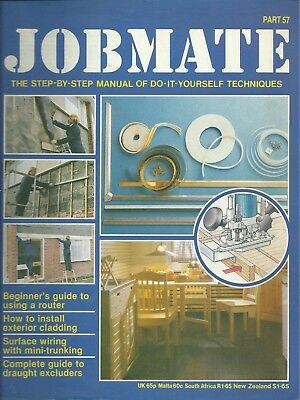 JOBMATE 57 DIY -ROUTERS, CLADDING, TRUNKING, DRAUGHTet