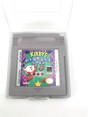 Kirby's Pinball Land  Nintendo Game Boy with Plastic Case