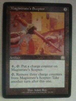 The Gathering MTG Core Set 2019 M19 Magistrate/'s Scepter X4 M//NM Magic