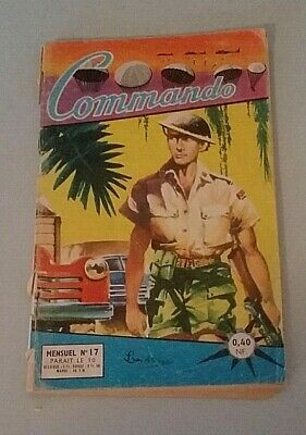 Comics Petit Format Commando No. 17 1961 Artima