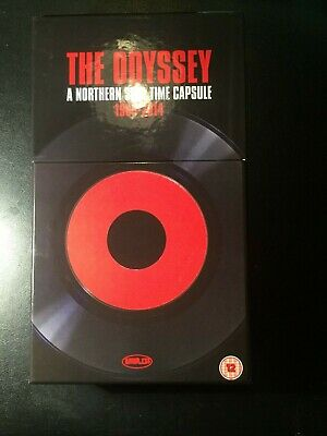 The Odyssey - A Northern Soul Time Capsule 1968-2014 8 CD 2 DVD Box Set OOP!