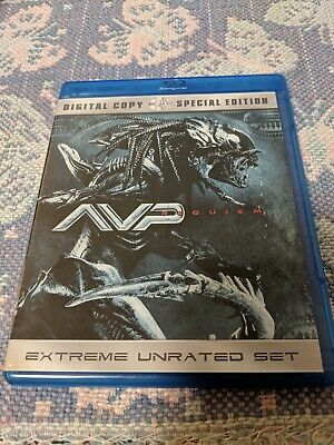Aliens Vs. Predator - Requiem (Blu-ray Disc, 2009, 2-Disc Set)