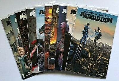 Absolution Rubicon (2013): 1 2 3 4 5 Complete Run Lot Set Gage Gete Variants