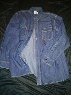 Bass Pro Red Head Xxl Denim New Contrast Stitching