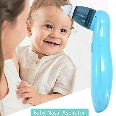 Rechargeable USB Electric Nasal Aspirator Baby Newborn Nose Snot Sunker Cleaner