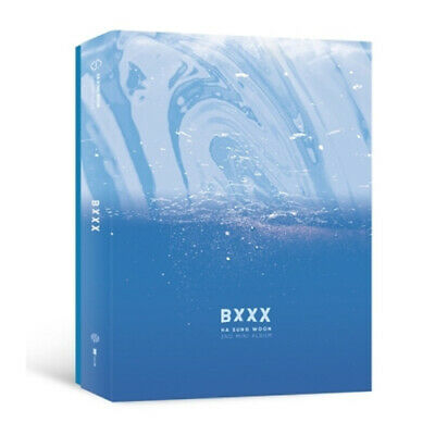 WANNA ONE HA SUNGWOON [BXXX] Album CD+POSTER+50p Post Card+4p Photo Card SEALED