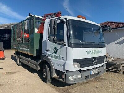 Mercedes LORRY 7.5 Tonne Caged Tipper Nice example Reaedy for work