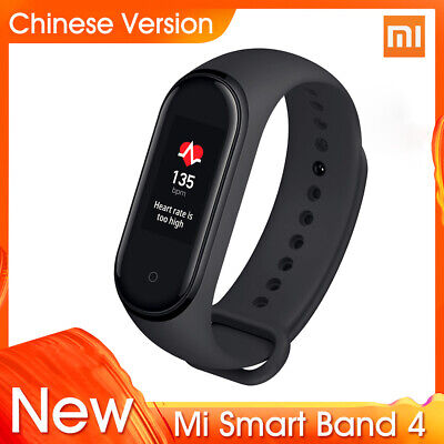 2019 Original Xiaomi Mi Band 4 Newest BT 5.0 135mAh Sport Black Smart Bracelet