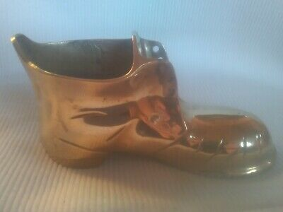 Very Heavy Large Victorian Styled Brass Boot/Shoe Ornament