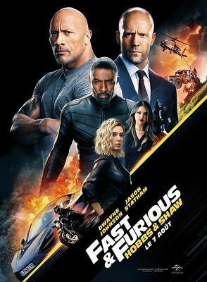 Fast and Furious : Hobbs & Shaw - Affiche cinema 40X60 - 120x160 Movie Poster