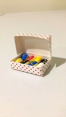 Miniature Donuts 1:12 Great with Zuru Mini Brands Coles Little Shop 2