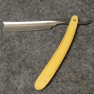Case Brothers Tested XX Little Valley NY Straight Razor Fancy Pressed Celluloid