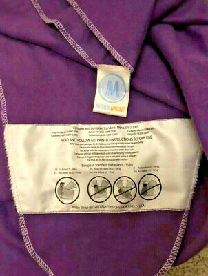 Original Moby Wrap Baby Sling - Purple - Excellent Condition