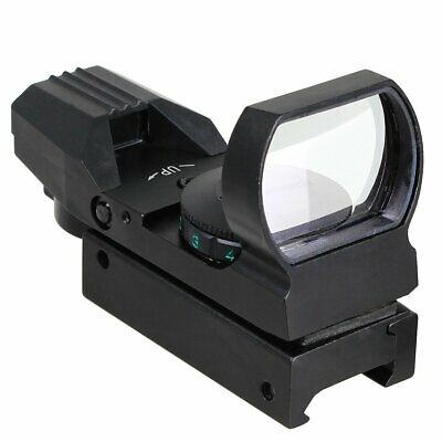 Holographic Laser Reflex Red Green 4 Reticle Dot Sight Scope 33mm Picatinny Rail