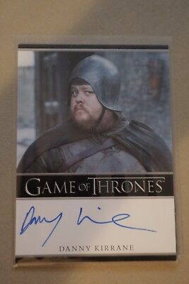 Game Of Thrones Season 7 - Trading Cards Danny Kirrane Autograph Card