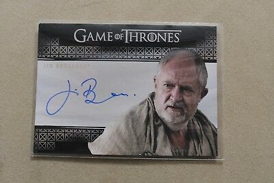 Game Of Thrones Season 7 Trading Card Jim Broadbent Archmaester Ebrose Autograph