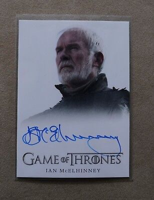 Game Of Thrones Season 7 - Trading Card Ian Mcelhinney Autograph Card