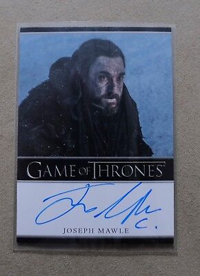 Game Of Thrones Season 7 - Trading Card Joseph Mawle Autograph Card