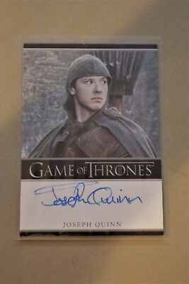 Game Of Thrones Season 7 - Trading Cards Joseph Quinn Autograph Card