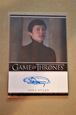 Game Of Thrones Season 7 - Trading Cards Sara Dylan Autograph Card