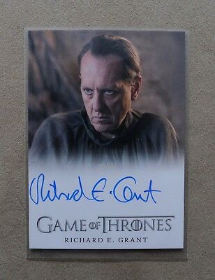 Game Of Thrones Season 7 - Trading Card Richard E. Grant Autograph Card