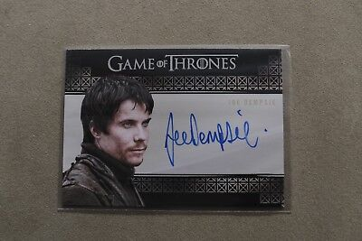 Game Of Thrones Season 7 - Trading Card Joe Dempsie As Gendry Autograph Card