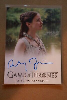 Game Of Thrones Season 7 - Trading Cards Aisling Franciosi Autograph Card