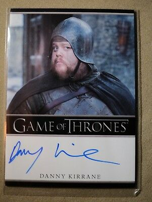 Game Of Thrones Season 7 - Trading Card Danny Kirrane Autograph Card