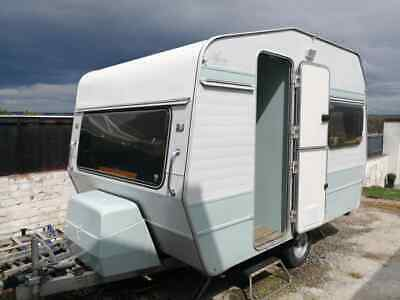 Retro Small Classic Vintage 10 Foot 2/3 Berth Lightweight Caravan