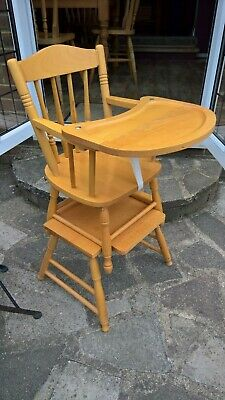Mothercare Wooden High Chair 880 Picclick Uk