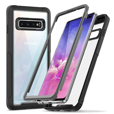 For Galaxy S10, S10 Plus Case,Heavy Duty Protection Clear Full-Body Shockproof