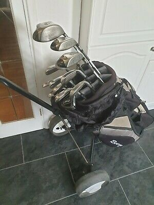 Superb Set Of Taylormade Rac And R5 Golf Clubs, Left Handed