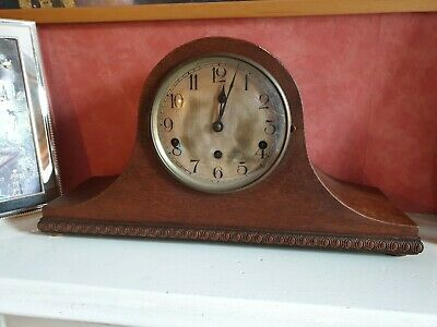 Vintage Kienzle Mantle Clock with Westminster Chime for Easy Resto.
