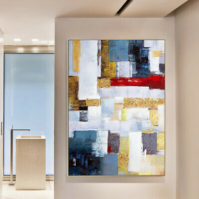 VV447 Modern Large Abstract Hand painted oil painting on canvas Home Decoration