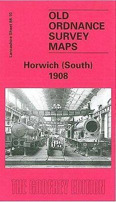 Old Ordnance Survey Map Horwich (South) 1908