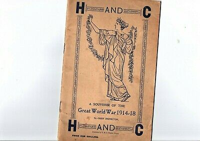 War Booklet 1914 - 1918 World War I Principal Events The Great War