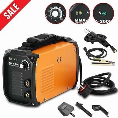 MMA-200K MMA Welding Machine 10-200A Current Range DC Inverter Weld Equipment