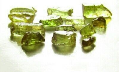 Fine Green/Pink Andalusite Gem Rough for Faceting #1