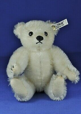 Steiff Teddy Bär / Bear, weiß / white, 0163/20, 1989, KF / IDs, ca. 20 cm, limit