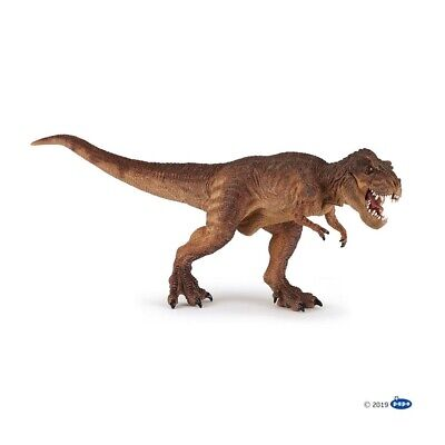 Brown Running T-Rex figure Papo: Dinosaurs - Model 55075