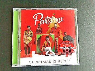 Pentatonix - Christmas Is Here - Target Exclusive CD With Poster Inside -ID
