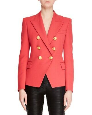 Six-button double-breasted blazer by San Julian Wenjie Made in the USA