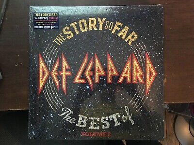 Def Leppard The Story So Far The Best Of Vol 2 2 Lp Record Store Day 2019 New