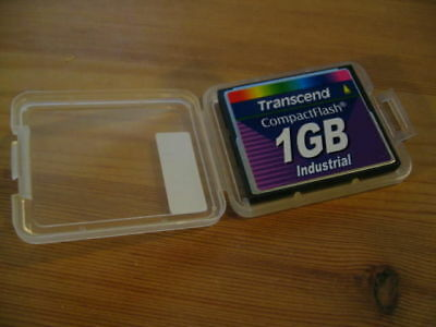 Transcend CompactFlash 1GB Industrial Card CF-Typ 1 Compact Flash mit Hülle