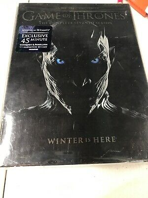 Game of Thrones season 7 + Conquest & Rebellion Included DVD 5 disc set Exclusiv